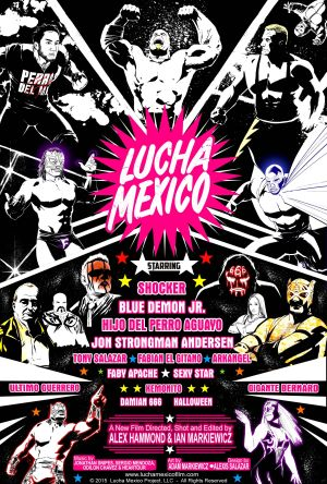 lucha mexico poster